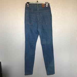 Fashion Nova Jeans - NWT Fashion Nova Blue High Rise Skinny Jeans sz 13